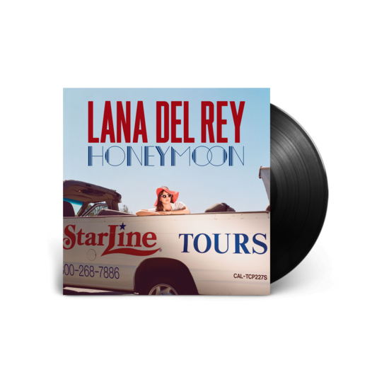 Lana Del Rey: Honeymoon Black LP
