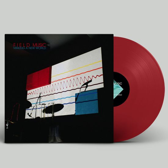 Field Music: Making A New World: Limited Edition Transparent Red Vinyl