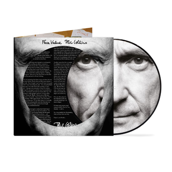 Phil Collins: Face Value: 40th Anniversary Limited Edition Picture Disc