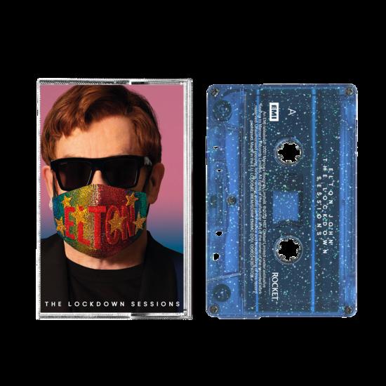 Elton John: The Lockdown Sessions Blue Glitter Cassette
