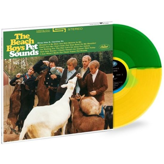 The Beach Boys: Pet Sounds: Exclusive Green + Yellow Split