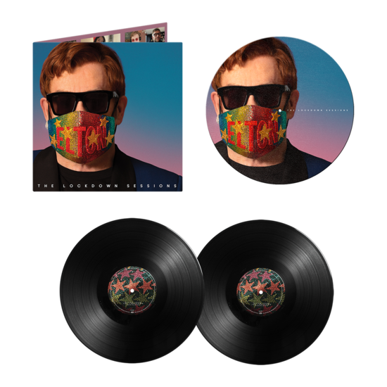 Elton John: The Lockdown Sessions LP & Slipmat Bundle