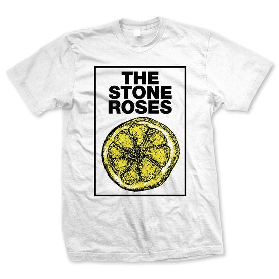 The Stone Roses: Framed Lemon White T-shirt