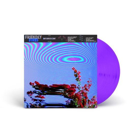 Friendly Fires: Inflorescent Purple Vinyl - UK Exclusive