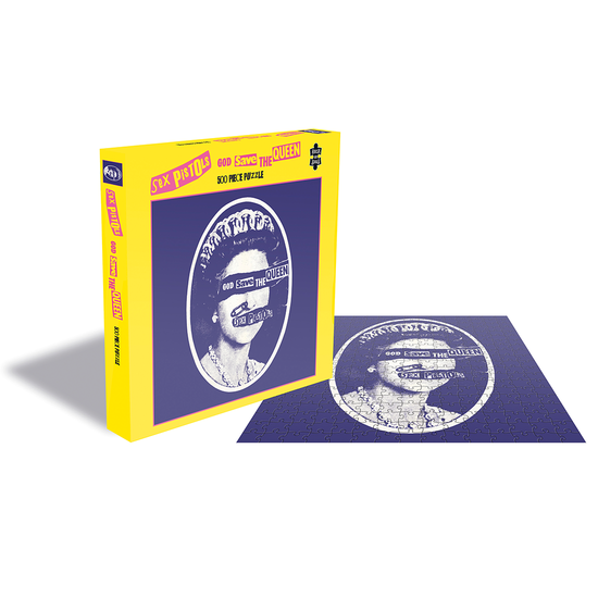 Sex Pistols: God Save The Queen (500 Piece Jigsaw Puzzle)