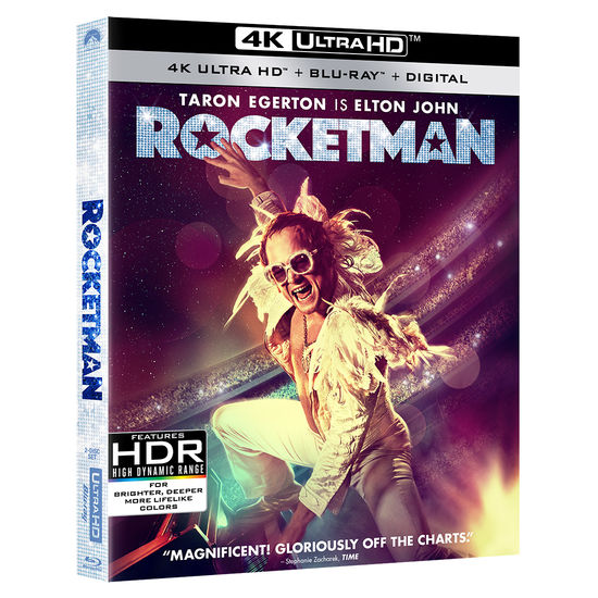Elton John: Rocketman - 4K Ultra HD Combo Pack