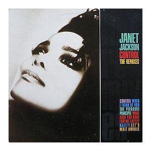 Janet Jackson: Control: The Remixes Double Vinyl