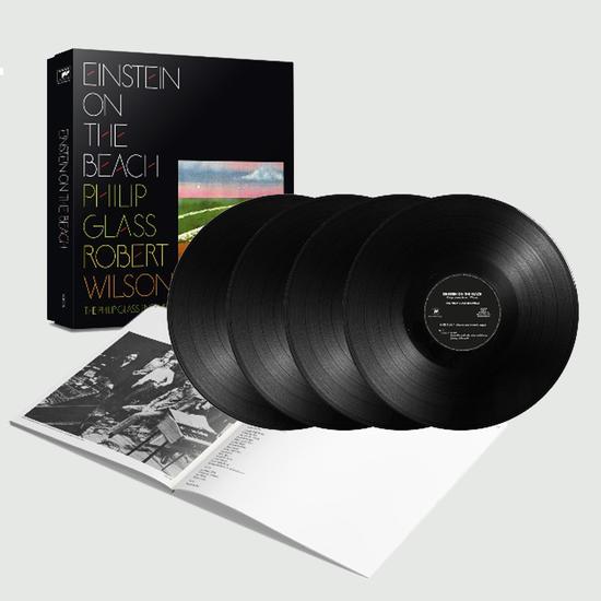 Philip Glass and Robert Wilson: Einstein On The Beach: Limited Edition 4LP Box Set