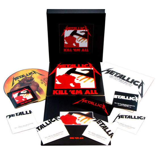 Metallica: Kill 'Em All - Remastered Deluxe Boxset