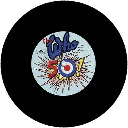 The Who: Be Lucky: Etched Vinyl