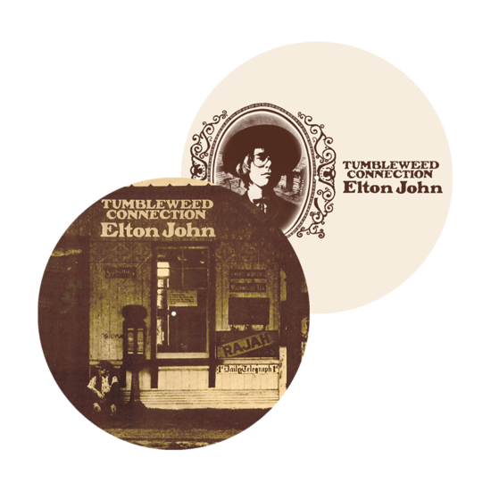 Elton John: Tumbleweed Connection Reversible Vinyl Slipmat