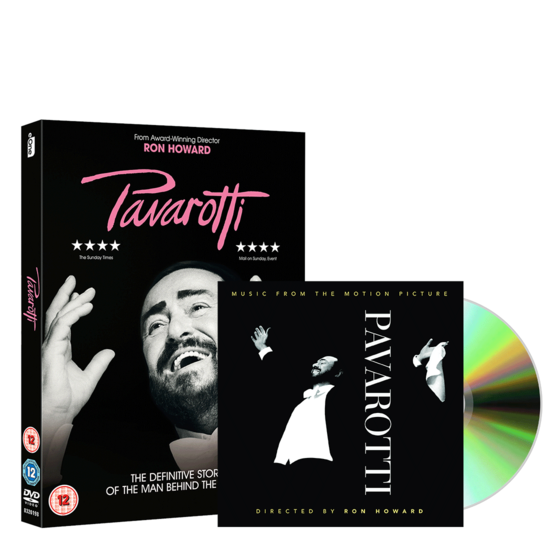 Luciano Pavarotti: Pavarotti Motion Picture (DVD & CD) Bundle