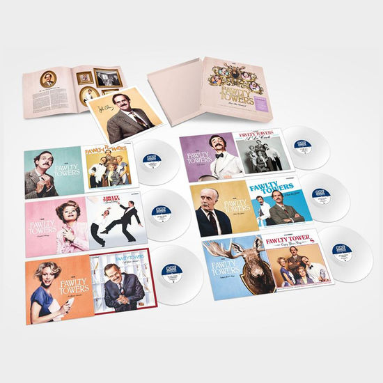Fawlty Towers: Fawlty Towers - For The Record: 140g White Vinyl Box Set Signed By John Cleese