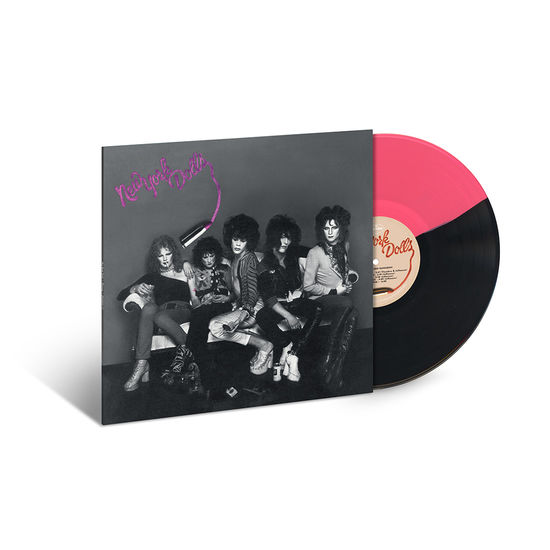 New York Dolls: New York Dolls: Opaque Pink/Black Split Colour Vinyl