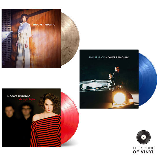 Hooverphonic: The Sound Of... Hooverphonic: Deluxe Colour Vinyl Exclusive Bundle