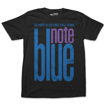 Blue Note: Official Blue Note Records Midnight Design on Dark Tee