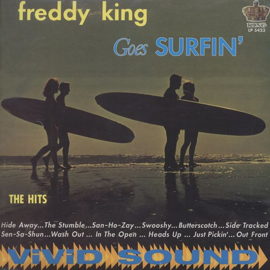 Freddy King: Freddy King Goes Surfin': Blue Vinyl