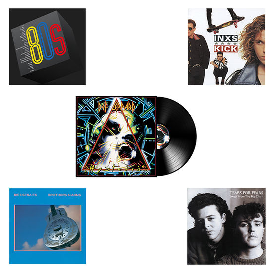 Various Artists: The Best Of The 80's: Limited Edition Bundle