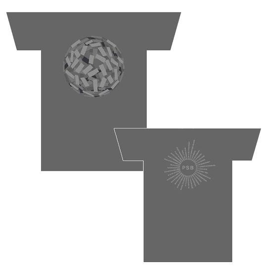 Pet Shop Boys: Super Tour Dates Silver T-Shirt