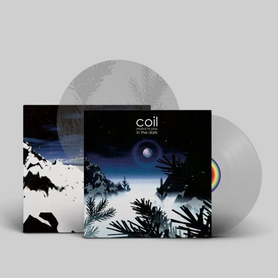 Coil: Musick To Play In The Dark: Limited Edition Clear Vinyl w/ Etched D Side