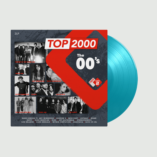 Various Artists: Top 2000 - The 00s Radio 2: Limited Edition Blue Vinyl