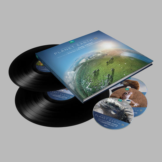 Hans Zimmer: Planet Earth II: Deluxe Edition (Book, 2LP, 3CD)