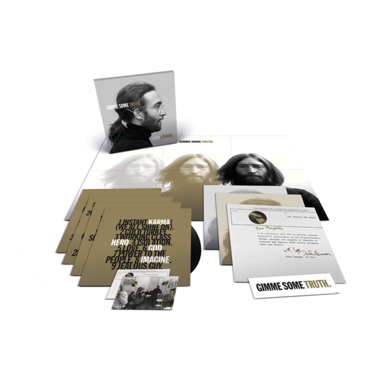 John Lennon: GIMME SOME TRUTH. Limited Edition 4LP Vinyl Box Set