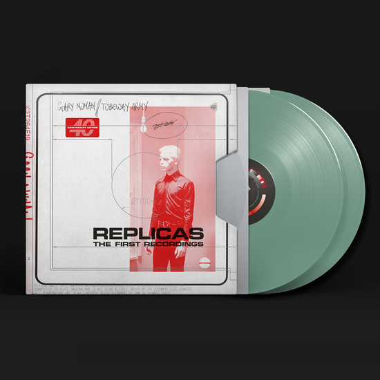 Gary Numan: Replicas – The First Recordings: Limited Edition Double Sage Green Vinyl