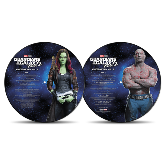 Various: Guardians of The Galaxy Vol.2: Limited Edition Picture Disc