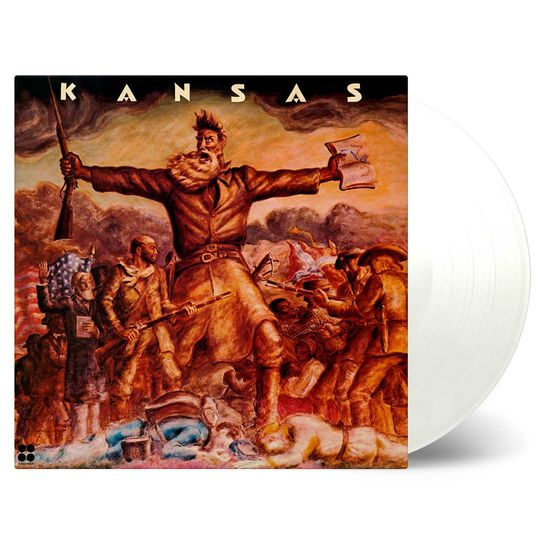 Kansas: Kansas: White Numbered Vinyl