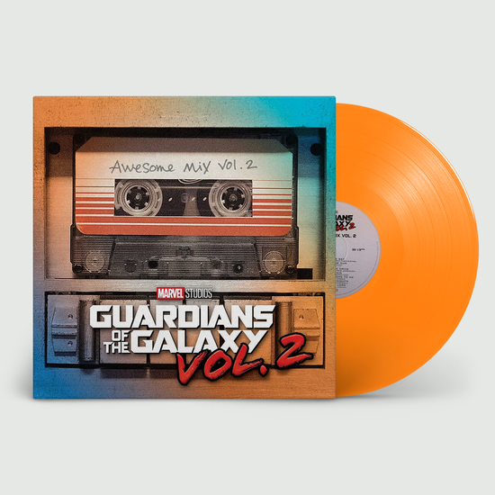 Various Artists: Guardians of the Galaxy 2: Limited Edition Orange Vinyl