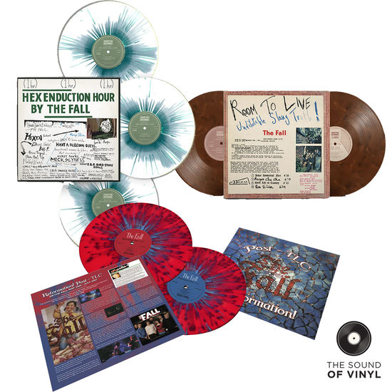 The Fall: The Sound Of... The Fall: Deluxe Colour Vinyl Exclusive Bundle