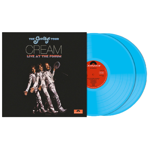Cream: Goodbye Tour – Live At The Los Angeles Forum 1968: Exclusive Transparent Blue Vinyl