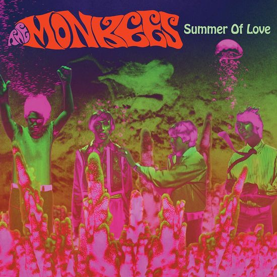 The Monkees: Summer Of Love: Red/White Splatter Vinyl