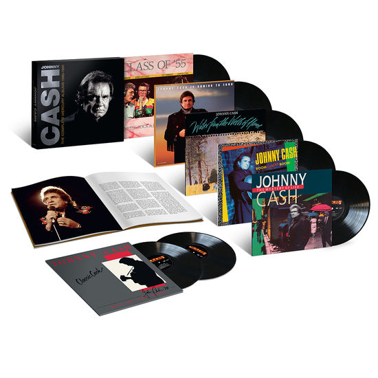 Johnny Cash: Complete Mercury Albums 1986-1991: 7LP Box Set