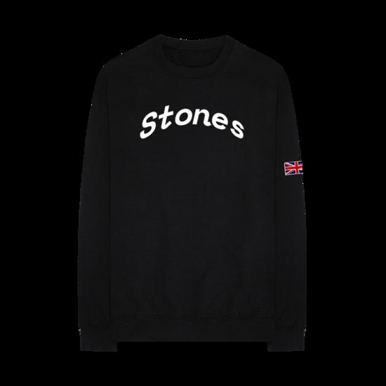 The Rolling Stones: Union Jack Crew Neck Sweatshirt - S