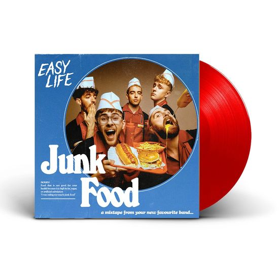 Easy Life: Junk Food EP: Limited Edition Ketchup LP