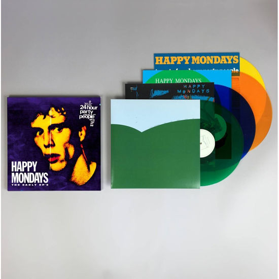 Happy Mondays: The Early EPs: Limited Edition Coloured Vinyl Boxset