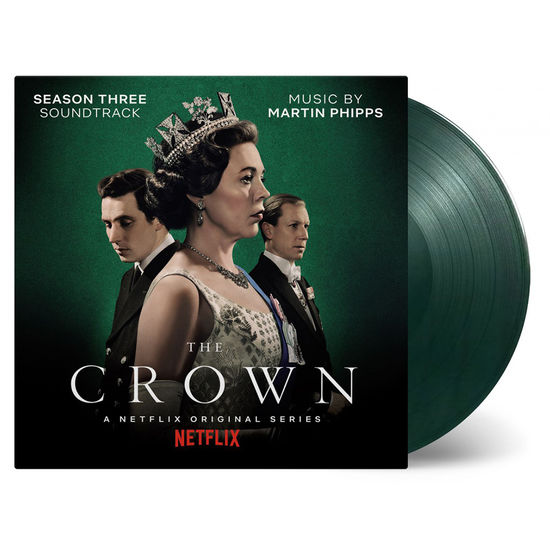 Original Soundtrack: The Crown: season 3: Limited Edition Marbled Green Vinyl