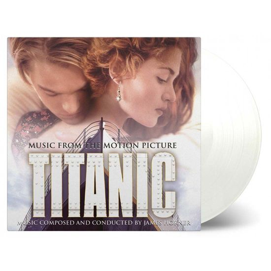 James Horner: Titanic Original Soundtrack Clear Vinyl