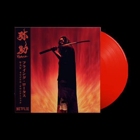 Flying Lotus: Yasuke: Limited Edition Red Vinyl LP + OBI Strip