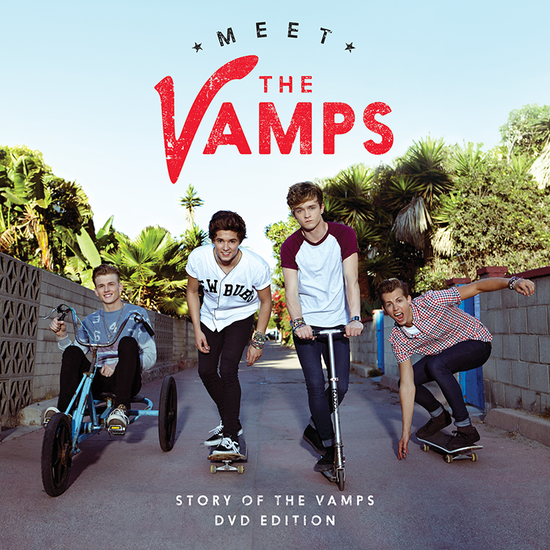The Vamps: Meet The Vamps DVD