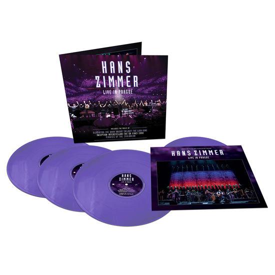 Hans Zimmer: Live In Prague: Limited Edition Quadruple Purple Vinyl