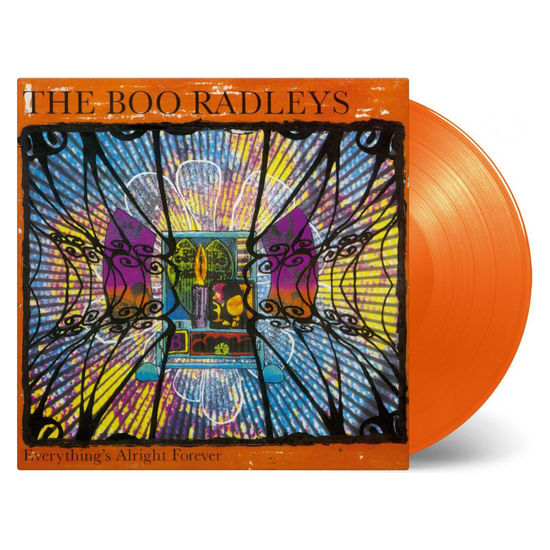 The Boo Radleys: Everythings Alright Forever: Limited Edition Transparent Orange Coloured Vinyl