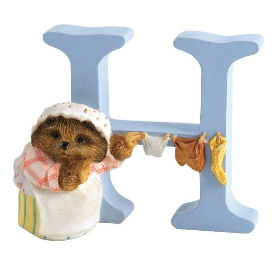 Peter Rabbit: Alphabet Letter H - Mrs. Tiggy-winkle