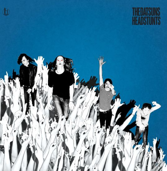 The Datsuns: Headstunts: Limited Edition Blue Silver Vinyl