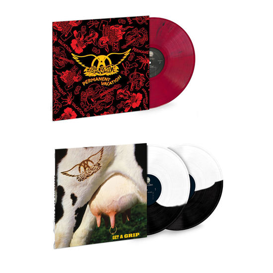 Aerosmith: The Sound Of Aerosmith: Permanent Vacation & Get A Grip Limited Edition Colour Vinyl Bundle