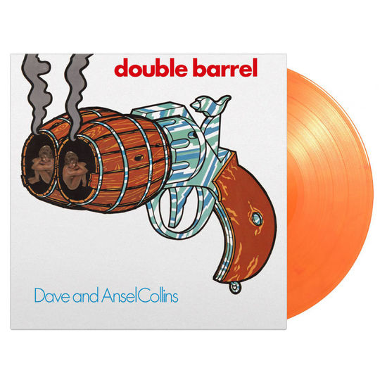 Dave and Ansel Collins: Double Barrel: Limited Edition Orange Vinyl