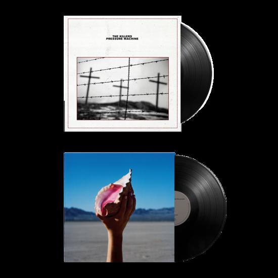 The Killers: PRESSURE MACHINE + WONDERFUL WONDERFUL Vinyl Bundle