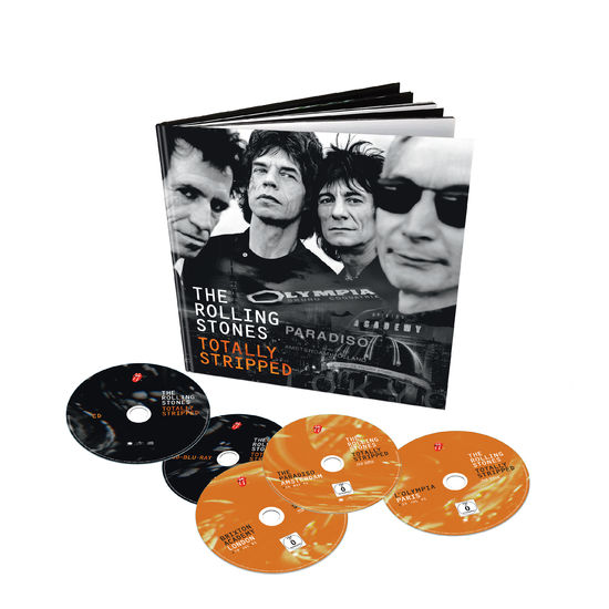 The Rolling Stones: Totally Stripped Deluxe 4 DVD + CD Set